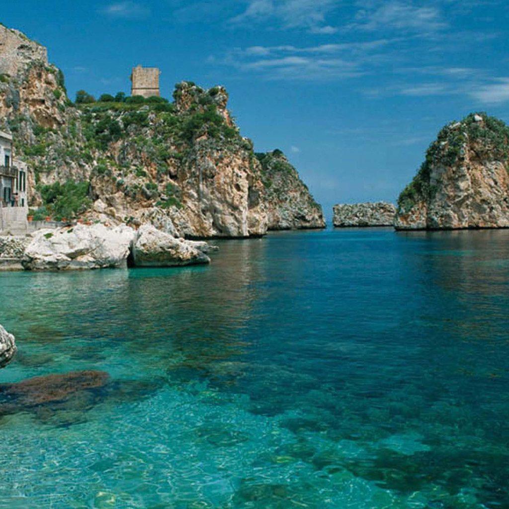 Scopello, in provincia di Messina: errore nel sussidiario
