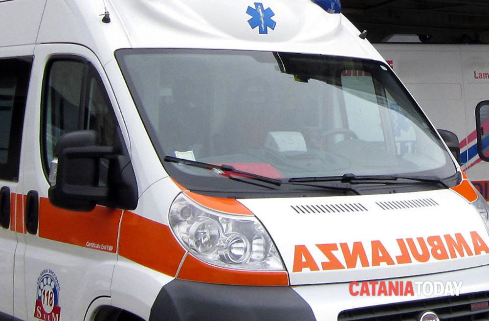 Incidente stradale a Messina, bimba gravissima