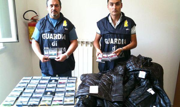 Palermo, Guardia di Finanza sequestra oltre 30000 articoli contraffatti
