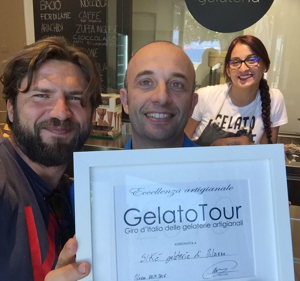 Il monfortese Rosario D'Angelo continua a riscuotere successi nel mondo della gelateria artigianale