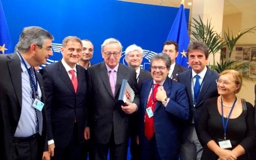 """Il presidente dell'Ars, Ardizzone a Bruxelles, parla della """"gaffe"""" degli inglesi con i siciliani"""