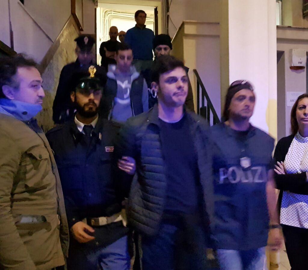 Fallisce la rapina alla gioielleria Mazzola, i malviventi arrestati dai Falchi