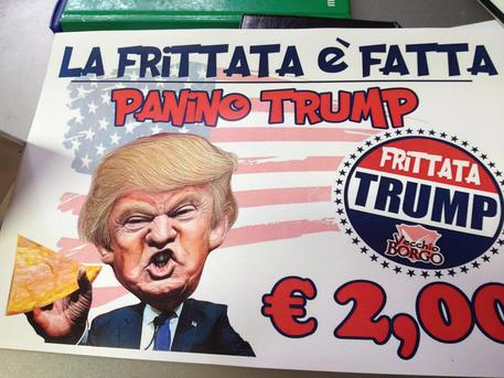 A Messina nasce il panino TRUMP