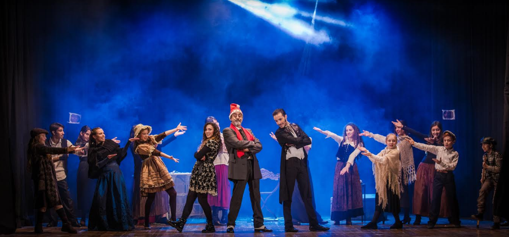 "Applausi per il musical ""A Christmas Carol"" al Teatro Trifiletti"