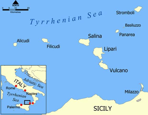 Terremoto di magnitudo 3.7 alle isole Eolie