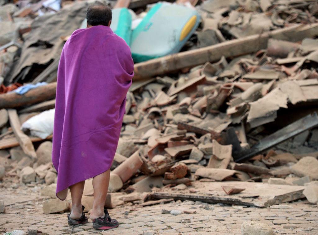 Terremoti e frane, l'Italia fra Paesi piu' minacciati
