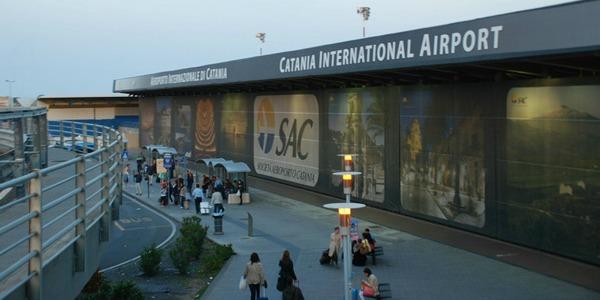 L'aeroporto di Catania al sesto posto assoluto in Italia