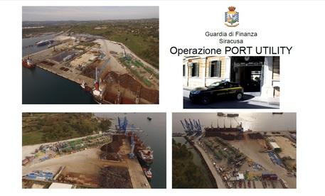 Indagini su porto Augusta, ordinanza