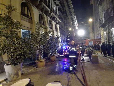 Incendi: rogo in appartamento a Palermo