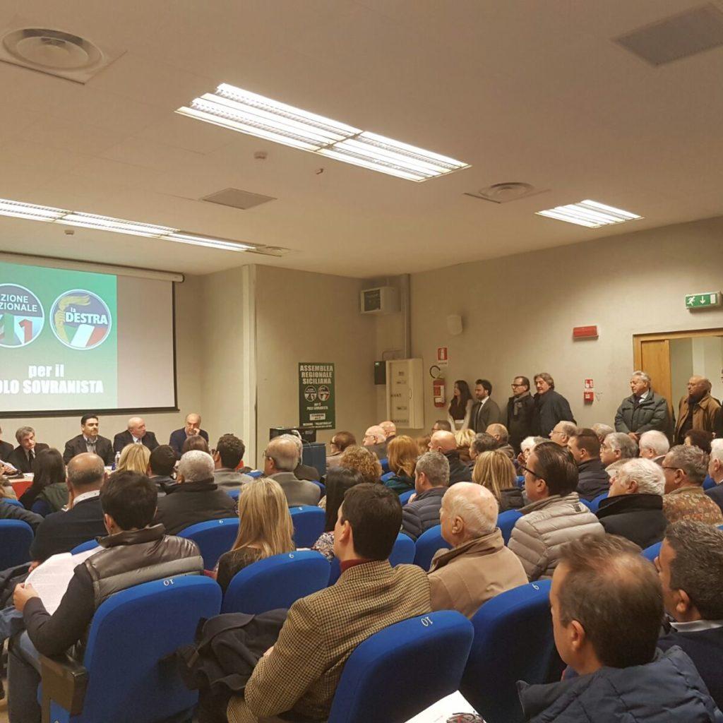 """Il Congresso regionale di """"Azione Nazionale – La Destra"""""""