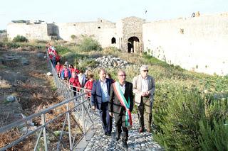 """Milazzo/ Riaperta la """"Porta delle Isole"""" all'interno del Castello"""