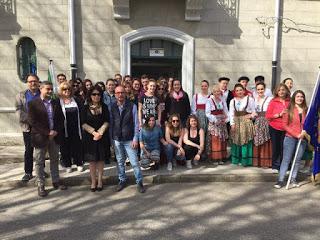 """Accoglienza di studenti francesi all'istituto Agrario """"Ferrari"""""""