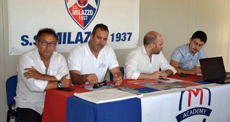 Calcio, la S.S. Milazzo punta sui giovani e sui…Vip