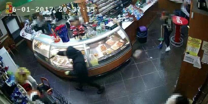Vittoria/ Arrestato rapinatore del bar della stazione