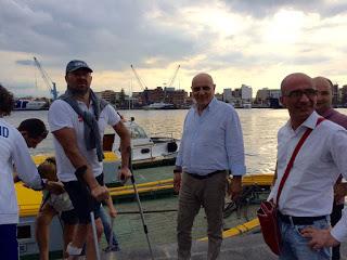 Traversata Vulcano-Milazzo, Giacomin e Peron vincono la sfida