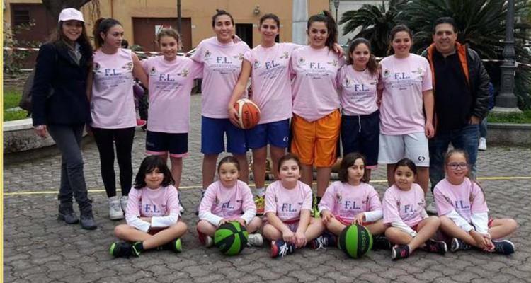 Il Minibasket Milazzo si veste di rosa, arriva l'under 18 femminile
