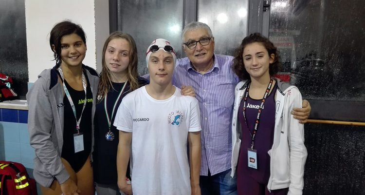 """Nuoto Milazzo primeggia al """"Trofeo Andrea Pantellaro"""" di Acireale"""
