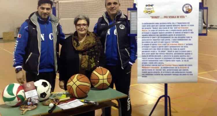 """L'Asd Svincolati presenta il progetto """"Basket, una scuola di vita"""""""