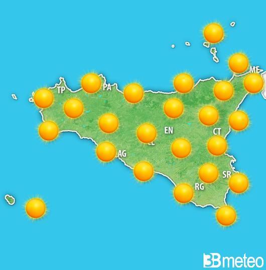 Meteo in Sicilia, il bel tempo reggerà anche nella settimana di Pasqua