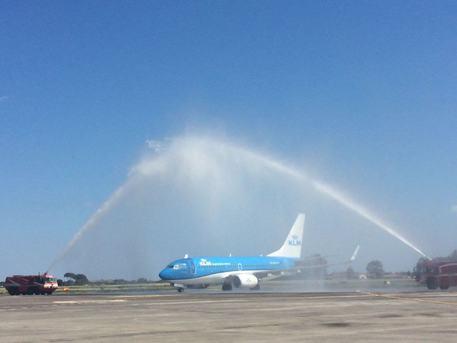 Klm inaugura volo Amsterdam – Catania