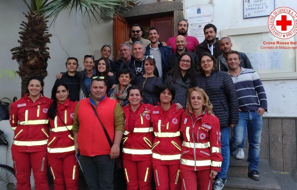 La Croce Rossa Italiana sempre vicina agli Eoliani