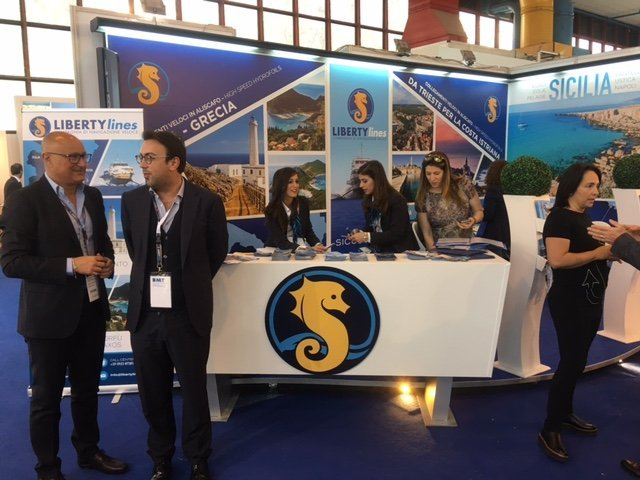Liberty lines alla Borsa Mediterranea del Turismo di Napoli