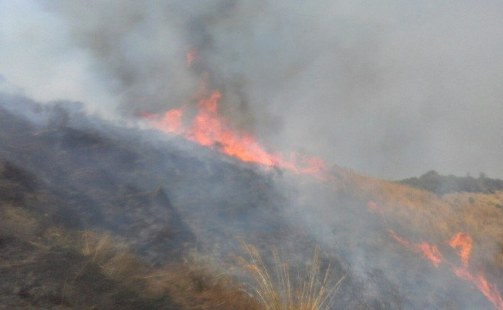 Primi incendi sulle Madonie