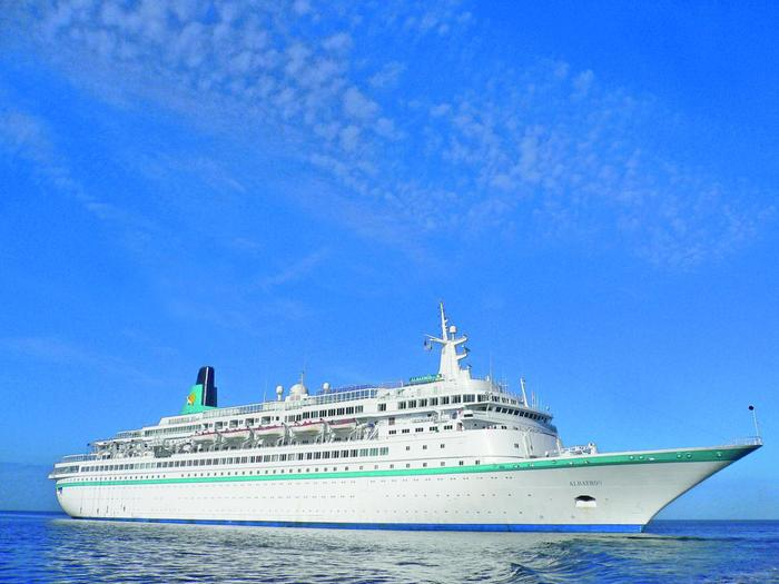 MILAZZO: Il 18 aprile in arrivo 600 turisti con la nave da crociera Albatros