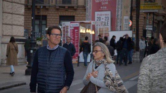 Fabio Capello a Palermo tra le gastronomie dello Street Food Fest