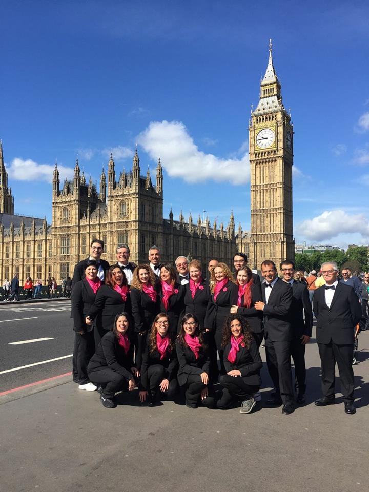 Milazzo/La Corale Polifonica Aura Vocis unico coro italiano a partecipare al 14° Festival Corale Internazionale Sangerstevne a Londra.