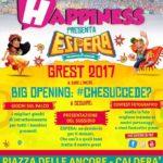 BARCELLONA P.G. : IL 2 GIUGNO A CALDERA' MANIFESTAZIONE DELL'ASSOCIAZIONE HAPPINESS