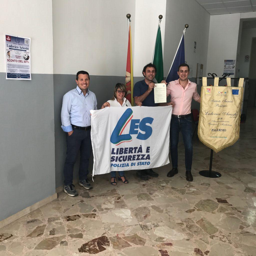 Siglata a Palermo la convenzione tra Scuole Riunite e il sindacato di Polizia di Stato Ugl