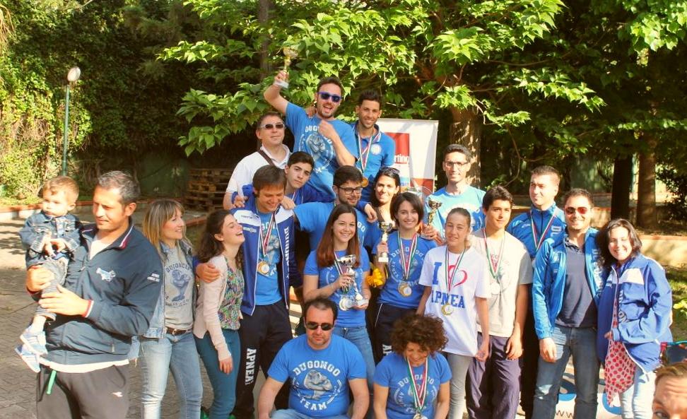 Cascata di medaglie per il Dugongo team di Milazzo