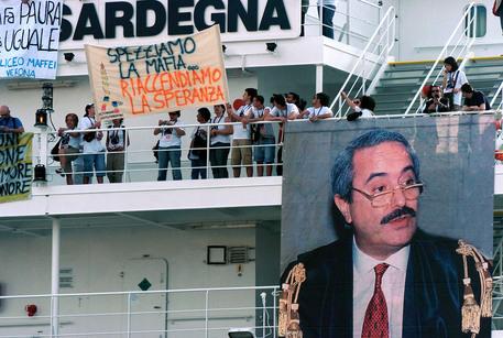 Anniversario morte Falcone: domani Nave legalità a Palermo