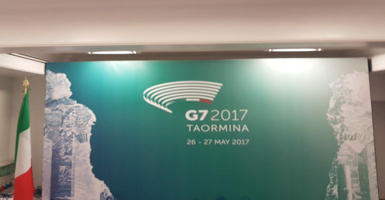 Taormina / Tutto pronto per il G7