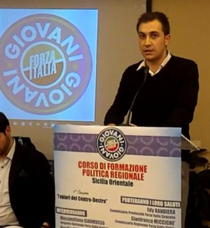 """""""Coltivazioni a rischio, pericolo incendi"""" l'appello del giovane forzista Federico Raineri"""