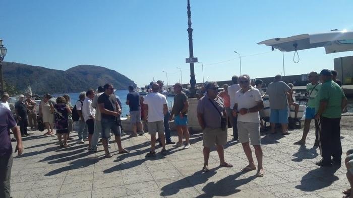 Pesca: protesta pescatori a Lipari