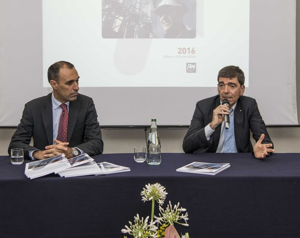 La Raffineria di Milazzo presenta il Bilancio di Sostenibilità 2016
