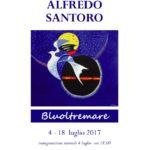 """""""Bluoltremare"""", alla Galleria """"Lucio Barbera"""" la mostra di Alfredo Santoro"""