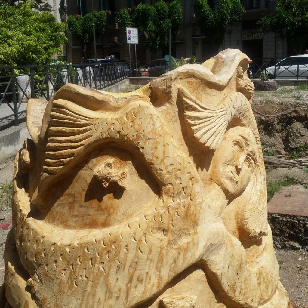 Messina / Rinascere Albero: il recupero che diventa arte