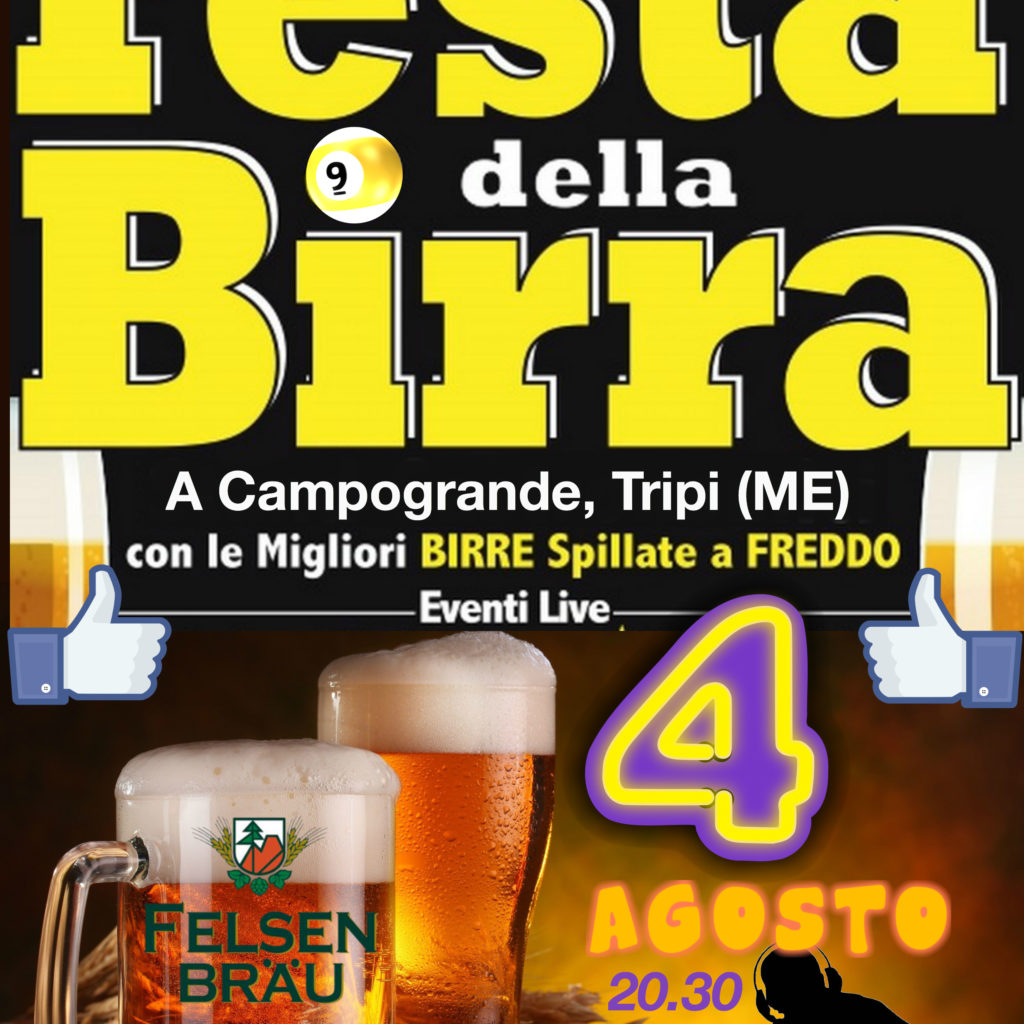 Grande attesa per la Nona edizione della Festa della Birra a Campogrande