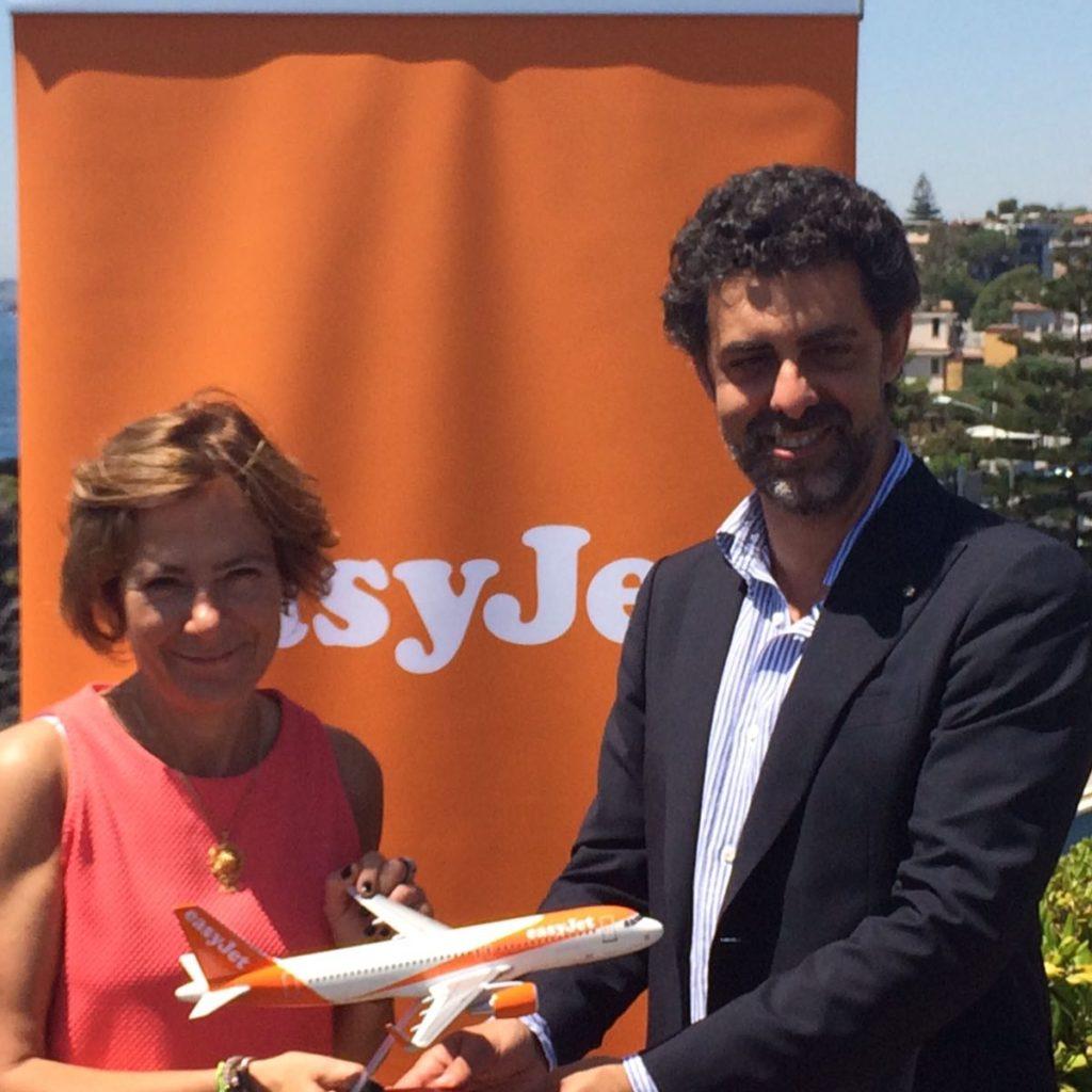 Da Easyjet 28 nuovi voli settimanali per Catania