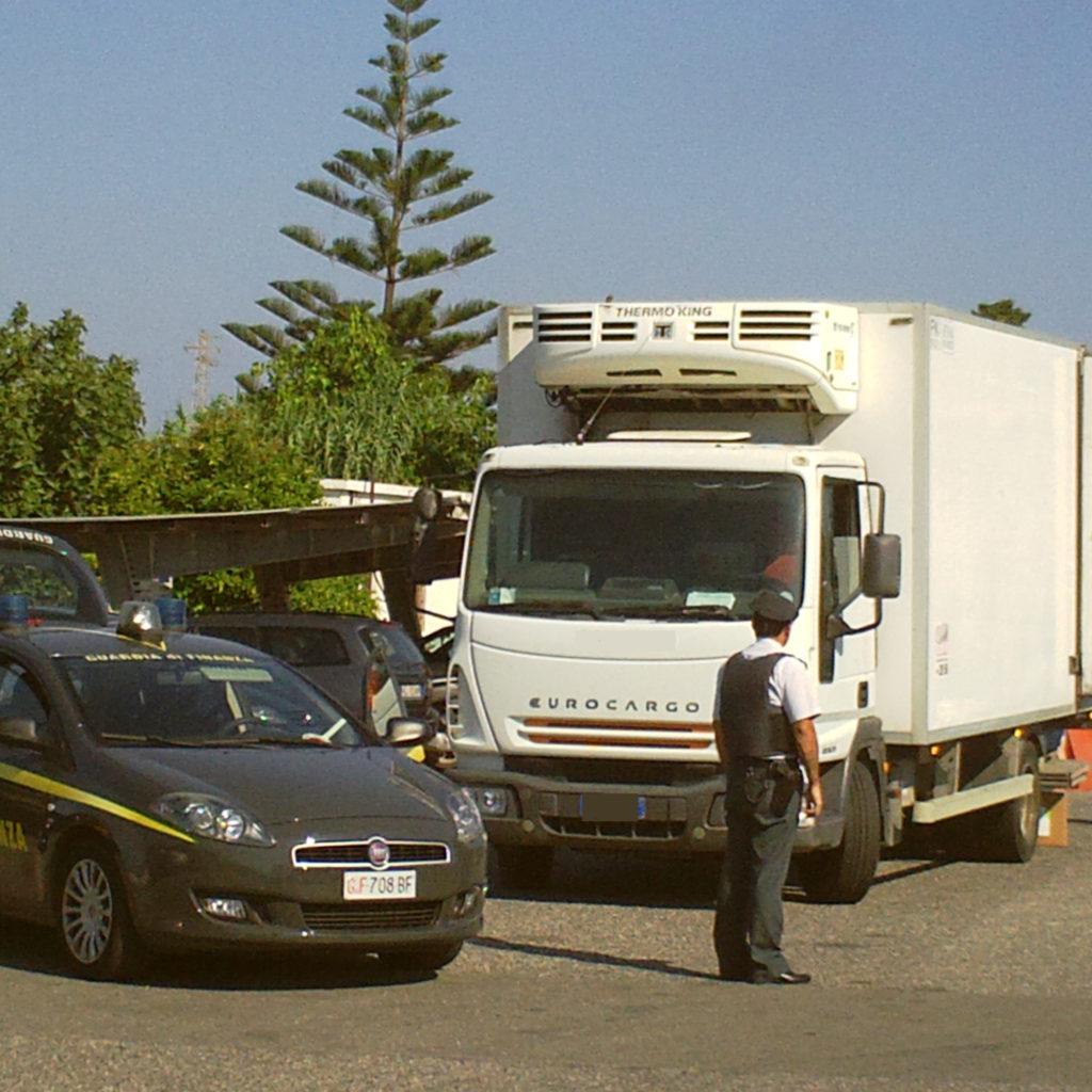 Barcellona Pozzo di Gotto (Me): scoperte otto imprese di autotrasporto abusive
