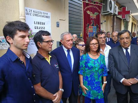 Mafia: Palermo ricorda Libero Grassi