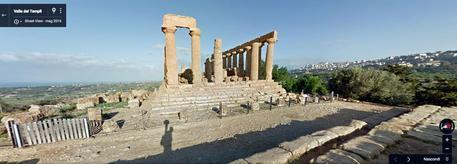 Archeologia: ricerche con droni in Valle dei Templi