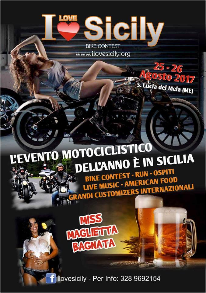 I Love Sicily, l'evento motociclistico più importante dell'anno fa tappa a Santa Lucia del Mela (Me) il 25 e il 26 agosto