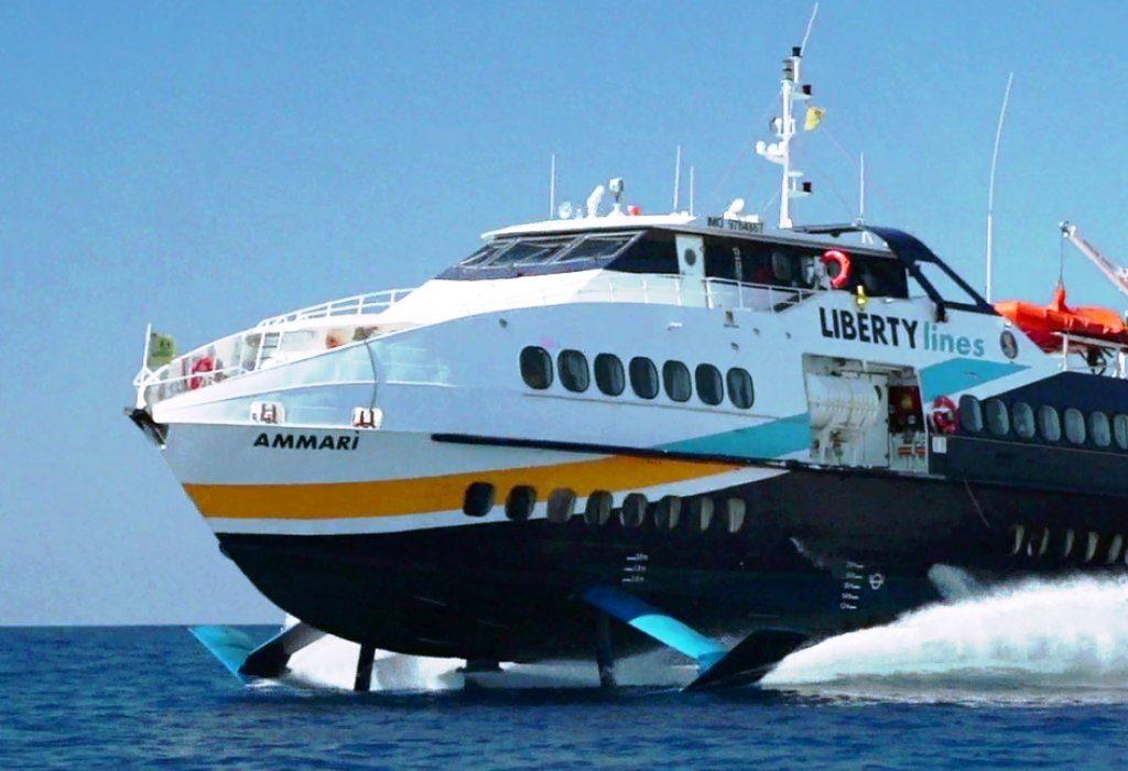 """Disservizi nei trasporti per le isole minori, Liberty Lines: """"Collegamenti stabiliti dalla Regione"""""""
