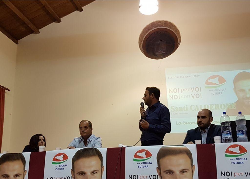 Presentata a Barcellona la candidatura di Santi Calderone