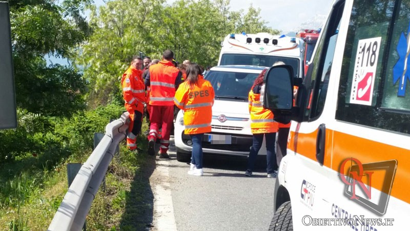 Incidente mortale nel Messinese