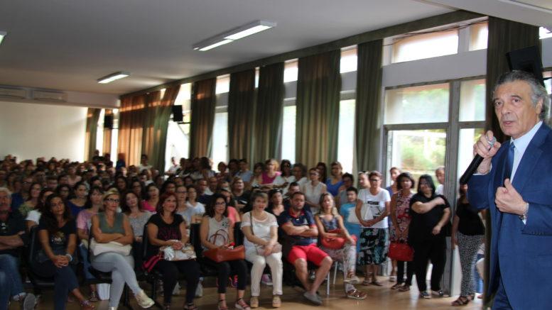 All'Istituto Majorana suona la prima campanella d'Italia